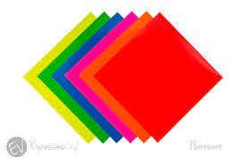 Fluorescent Vinyl 12 X12 Sheet Expressions Vinyl