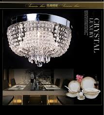 e lighting ceiling lighting of crystals