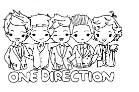 38 Straightforward One Direction Coloring Pages Without Zayn 2020