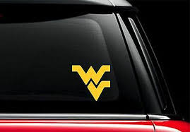 3 Colors To Choose From Flying Wv Sticker West Virginia Mountaineers Decal