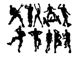 Amazon Com Lhkser Game Wall Decal Wall Sticker Poster Floss Dancing Decal Nursery Boys Room Wall Vinyl Decal Game Stickers Black Arts Crafts Sewing