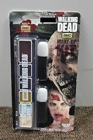 the walking dead zombie makeup kit amc