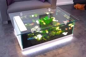 top 5 fish tank coffee tables for