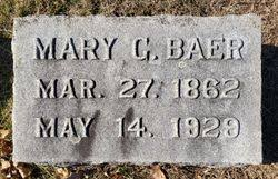 Mary Grim Baer (1862-1929) - Find A Grave Memorial