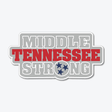 Middle Tennessee Strong Decal Southern Made Tees