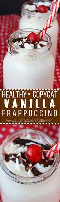 healthy vanilla frappuccino sugar