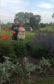 ribbon cutting at children s garden