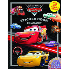 Disney Pixar Cars Sticker Book Treasury By Phidal Publishing