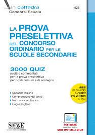 Libro concorso scuola 2020 prova preselettiva per il concorso ...