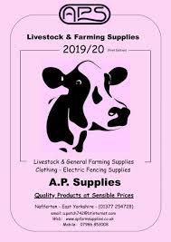 2019 20 Livestock And Farming Supplies Ap Farm Supplies