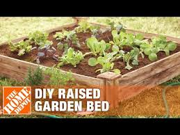 how to build a raised garden bed diy