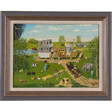 African-American Noah's Ark Painting by Ray Becker,   Cowan's Auction  House: The Midwest's Most Trusted Auction House / Antiques / Fine Art / Art  Appraisals