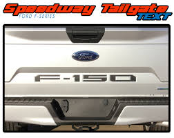 Ford F 150 Stripes Tailgate Inlay Text Vinyl Graphics Decal Sw 2019 2020