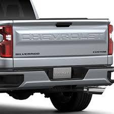 Silverado Custom Emblems In Black Chevrolet Accessories