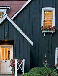 dark grey blue exterior house