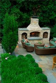 outdoor fireplace designs plans
