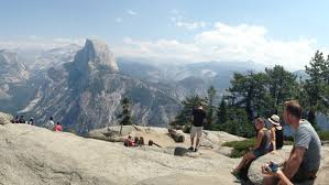 National park tips: To look down on Yosemite Valley, go here first ...
