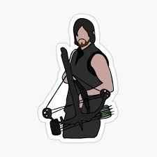 Daryl Dixon Stickers Redbubble