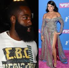 nba star james harden dumped ashanti