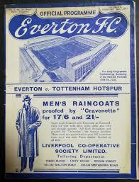 Everton vs Tottenham Hotspur FA Cup Feb 1937 programme | Everton, Tottenham,  Soccer tickets