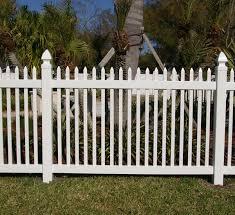 Malibu Vinyl Picket Fence Open Top