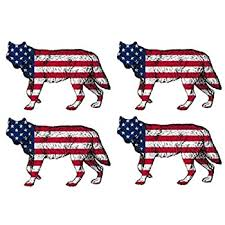 4x Bull Steer Cattle Cow Decal Sticker Silhouette American Flag Usa Large 4x4 Inch Patriotic Decal Auto Bumper Sticker Vinyl Car Truck Rv Suv Boat Window Decals Bumper Stickers Itrainkids Com