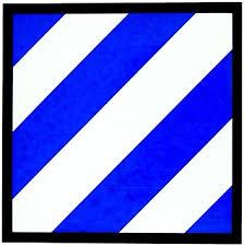 Amazon Com U S Army 3rd Infantry Division Sticker 3 1 4 Automotive