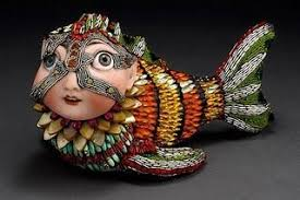 Betsy Youngquist | Mosaic art, Art dolls, Art