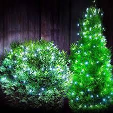 led solar garden string fairy lights