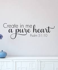 Wall Quotes By Belvedere Designs Pure Heart Wall Quotes Decal Best Price And Reviews Zulily