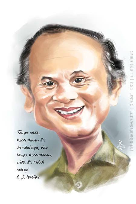 """Image result for caricatures bj habibie"""""""