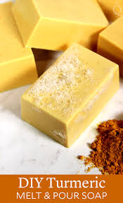 diy turmeric melt pour soap soap queen
