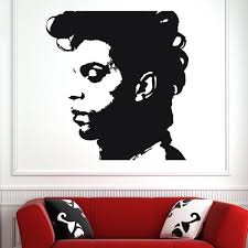 Huis Muurversieringen Stickers Prince Purple Rain Wall Stickers Art Decal Celebrity Pop Singer New Ceej Com Br