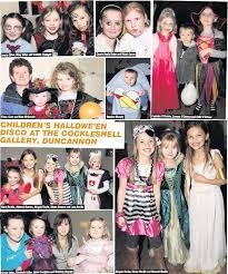 PressReader - New Ross Standard: 2012-11-06 - CHILDREN'S HALLOWE'EN DISCO  AT THE COCKLESHELL GALLERY, DUNCANNON