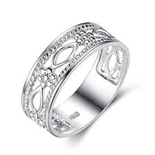 china 925 sterling silver ring hollow