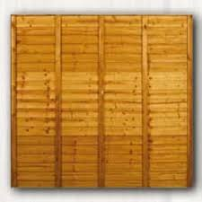 Willoughbys Hardware 6ft X 5ft Shiplap Fence Panel P T