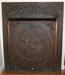 ornate interior gas fireplace insert