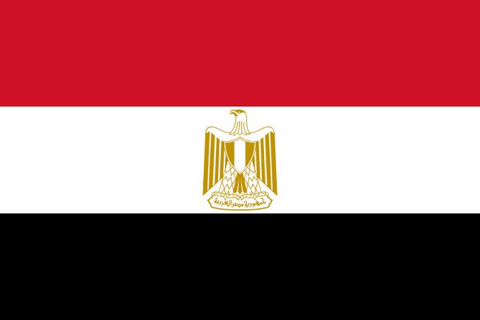 """Resultado de imagem para bandeira Egito"""""""