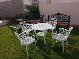 cast iron garden furniture manik
