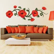 Poppies Wall Decal Style And Apply