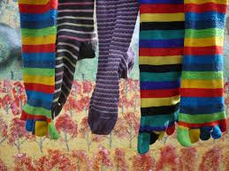 Stripy Socks Free Stock Photo - Public Domain Pictures