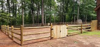 Split Rail Expansive Fence