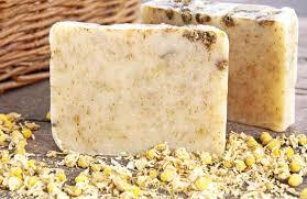 calendula honey oatmeal soap recipe