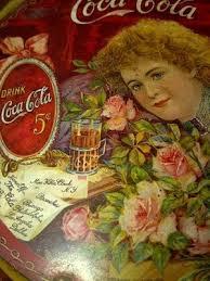 Authentic 1901 Coca Cola Hilda Clark Tip tray | #469201361