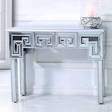 eleos mirrored console dressing table