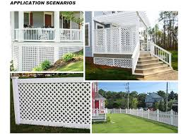 China Supplier Pvc Price Plastic Garden Lattice Fence Panels Buy Fences For Houses Philippines Gates And Fences Garden Plastic Fences Prices Product On Alibaba Com
