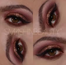 glitter makeup holiday makeup