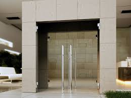 hydraulic glass door hinge biloba evo