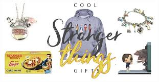 stranger things merch and gift ideas