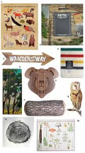 Cabin Themed Decor Finds Lindsay Stephenson Outdoors Theme Adventure Room Camping Room